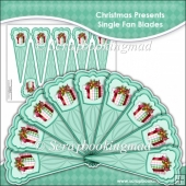 Christmas Present Single Fan Blades