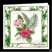 Tropical Flowers 4 Mini Kit