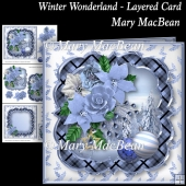 Winter Wonderland Layered Card