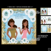 Ethnic Best Friends Humour Mini Kit
