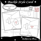 Buckle Style Card Template