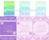12 A5 Mothers Day Card Fronts Set 1