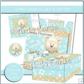 Beary Christmas Card & Gift Box