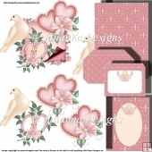 Sweet Wedding Decoupage Set