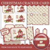 From Our House To Your House Cracker Card