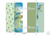 "Water's Edge ""Looking On"" Kingfisher Bookmark Sheet"