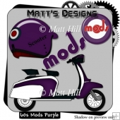 60's Mods in Purple