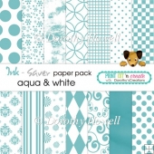 Ink-Saver Paper Pack - Aqua