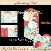 Pop Out Box Card You are my star