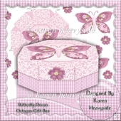 Butterfly Dream Octogon Gift Box