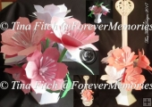 Lily Vase & Holder TF0096, SVG, MTC, SCAL, CRICUT, CAMEO