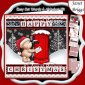 POSTMAS TED Christmas Decoupage Easy Cut Word Strips or Alphabet