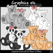 Tatty Bears Clipart