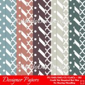 Modern Hues Pkg3 Digital Designer Patterns Scrapbooking Papers