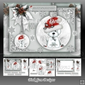 Santa Paws Silver A5 Mini Kit