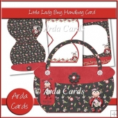 Little Lady Bug Handbag Card & Envelope