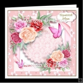 Rose Flower Corner Mini Kit