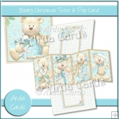 Beary Christmas Twist & Pop Card