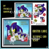 Christmas Clarice Decoupage Design