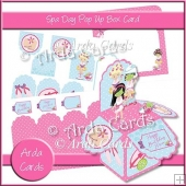 Spa Day Pop Up Box Card