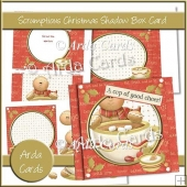 Scrumptious Christmas Shadow Box Card