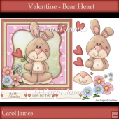 Valentine - Bear Heart