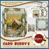 Woodland Christmas 7x7 Shadow Box Fold Card Kit