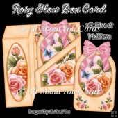 Rosy Glow Gift Box Card