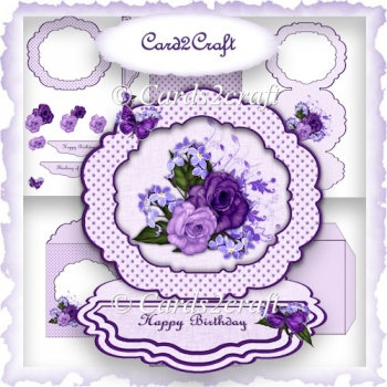 Frame easel card set 11