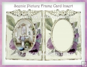Scenic Picture Frame Card Insert 1