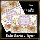 Easter Bunnies 1 Topper