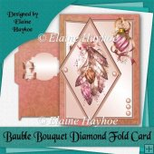 Bauble Bouquet Diamond Fold Card