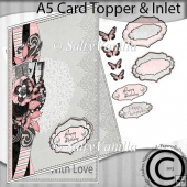 A5 Card Topper & Inlet Ohlala