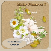 Cu4cu Vol 9 white Flowers 2