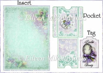 Timeless Beautyl Pocket Tag Card Insert