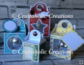 Set of 4 Bauble Boxes - Cutting Machine File