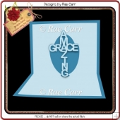 003 Amazing Grace Pop-out Insert *Multiple MACHINE Formats*
