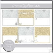 Christmas Joy Place Cards