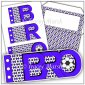 Bro Blue Football Word Book Set