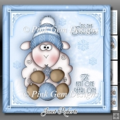 Winter Knitting Sheep Mini Kit