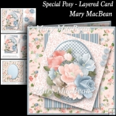 Special Posy - Layered Card