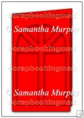Tri Fold Window Card Template Overlay PDF Sheet Personal Use