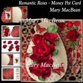Romantic Roses - Money Pot Card