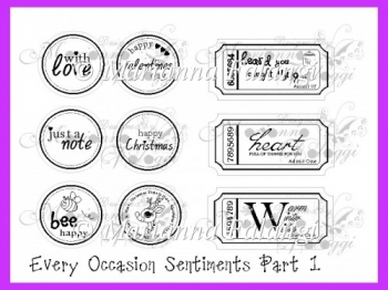 Every Occasion Sentiments (Digital Stamps)