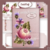 Pink Passion card set