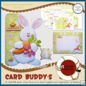 Hoppy Easter Shaped Fold Card Kit
