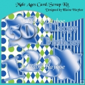 Male Ages Card Kit