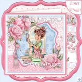 CRAFTING LADY 7.8 Decoupage & Insert Kit