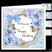 Birthday Flowers_Blue Mini Kit