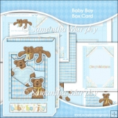 Baby Boy Box Card